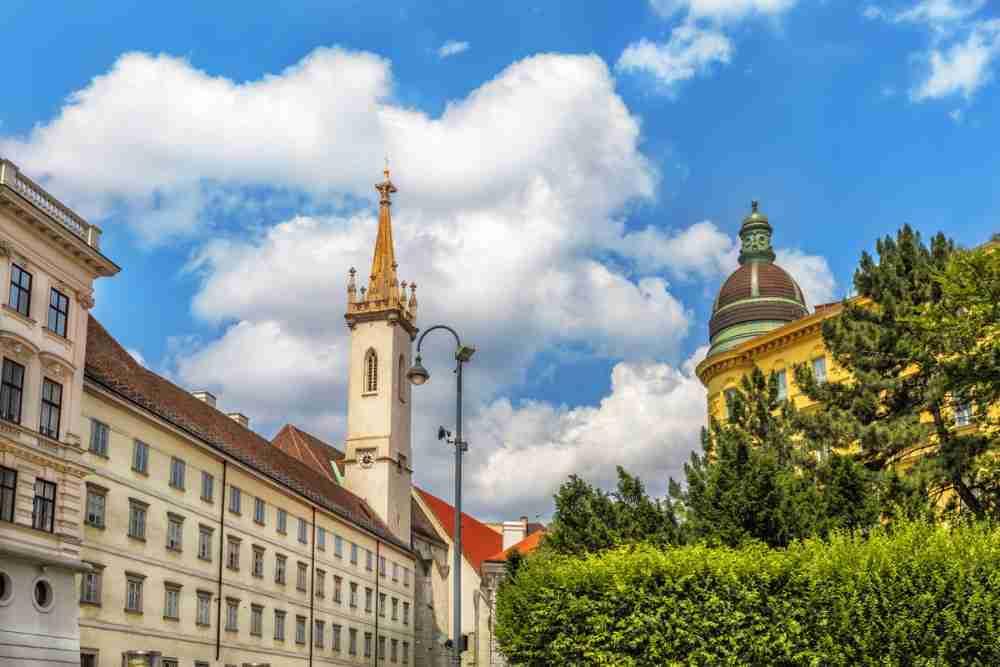 St. Augustin in Vienna in Austria