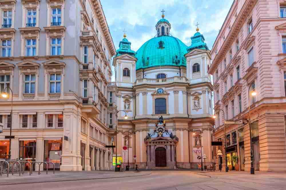 St. Peter in Vienna in Austria