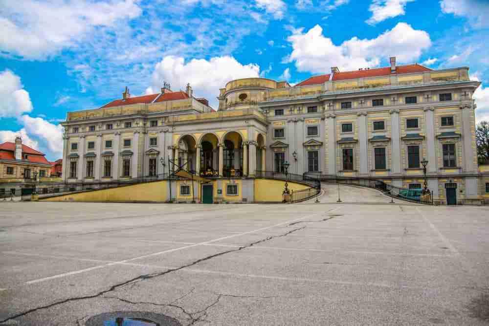 Stadtpalais in Vienna in Austria
