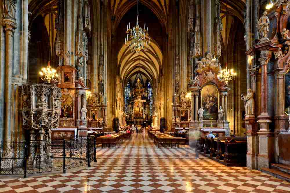 Stephansdom in Vienna in Austria