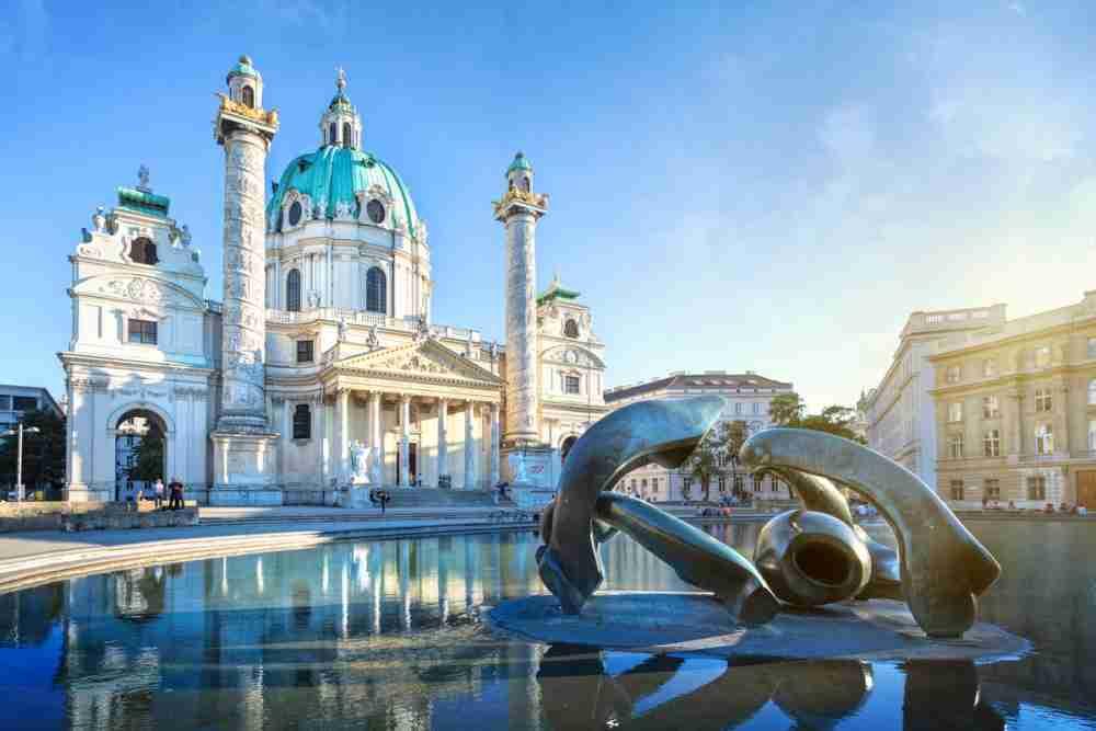 Wieden in Vienna in Austria