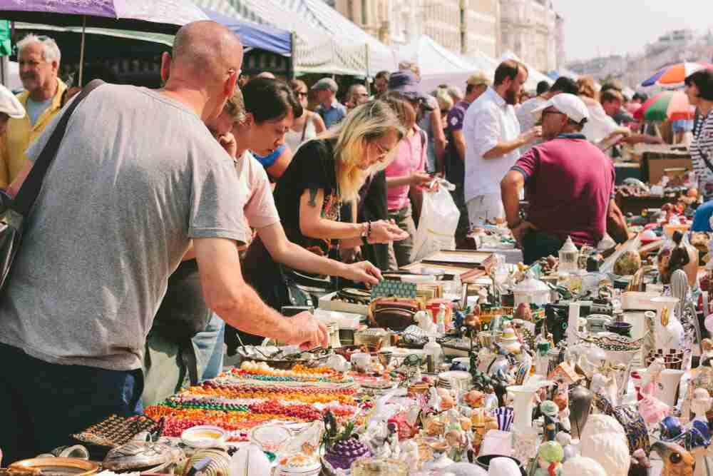 Flohmarkt am Samstag