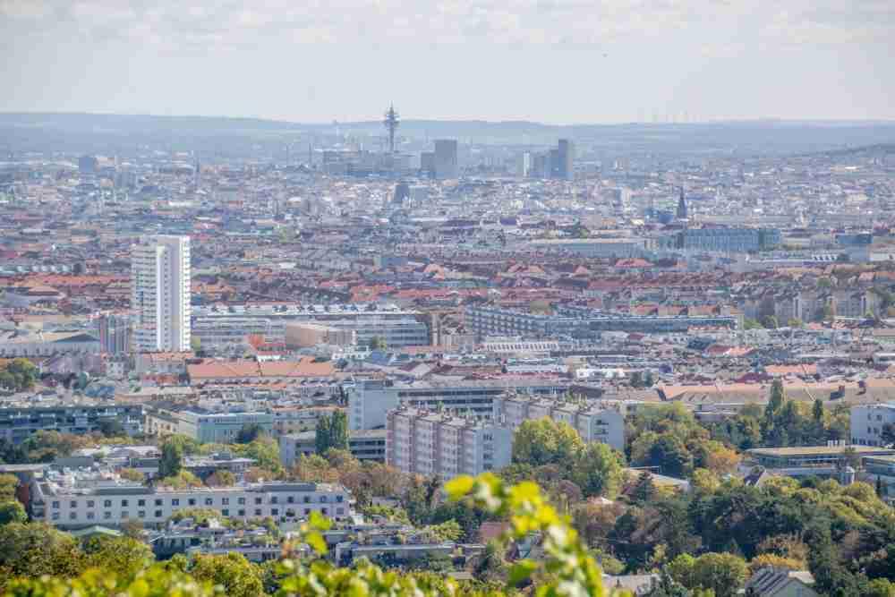 Hernals in Vienna in Austria