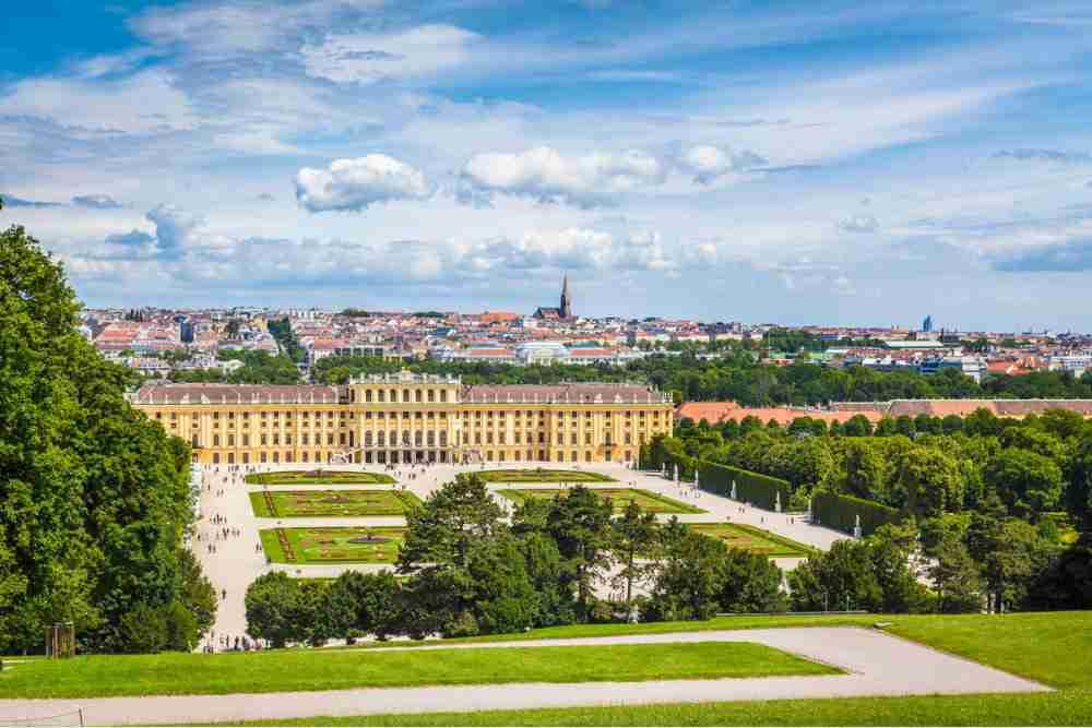 Hietzing in Vienna in Austria