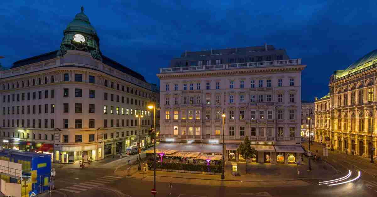 Hotel Sacher in Vienna in Austria