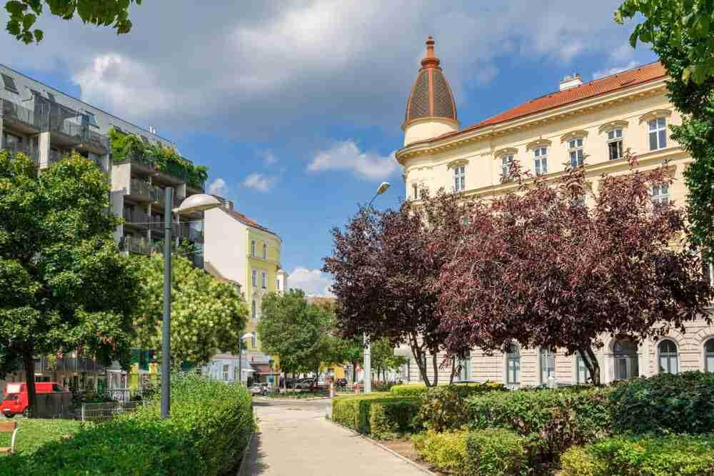 Margareten in Vienna in Austria