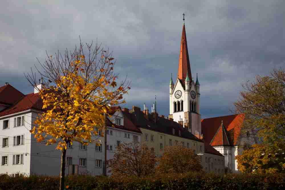 Ottakring in Vienna in Austria
